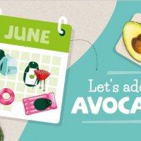 June = avocadomonth