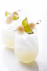 Lychee Lime Fizz